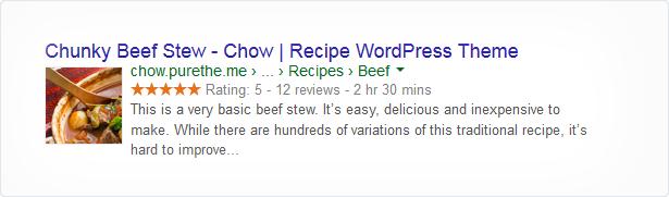 Chow - Recipe & Food WordPress Theme - 7